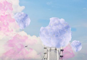 freetoedit cottoncandy sweets clouds pinkclouds