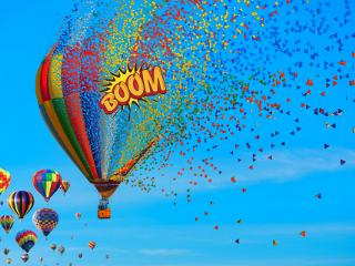 balloon hotairballoons boom dispersiontool freetoedit