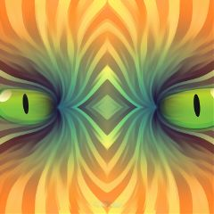 freetoedit abstractmonster green eyes