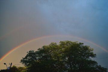freetoedit doublerainbow rainbow rain weather