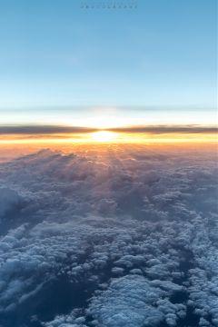landscape sunrise airview freetoedit
