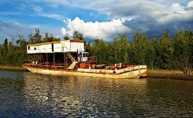 freetoedit boat river riverboat alaska