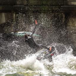 surf sport eisbach summer freetoedit