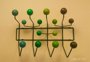 wardrobe green stylish modernart bubbles
