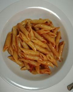penne pasta penneallarrabbiata food
