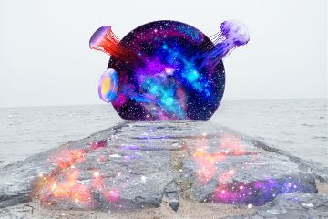 freetoedit space galaxy jellyfish water