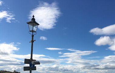 freetoedit streetlight sky cloud emotion