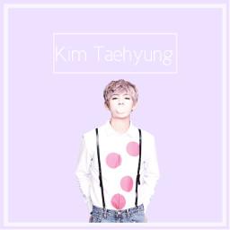 bts taehyung purple pastel