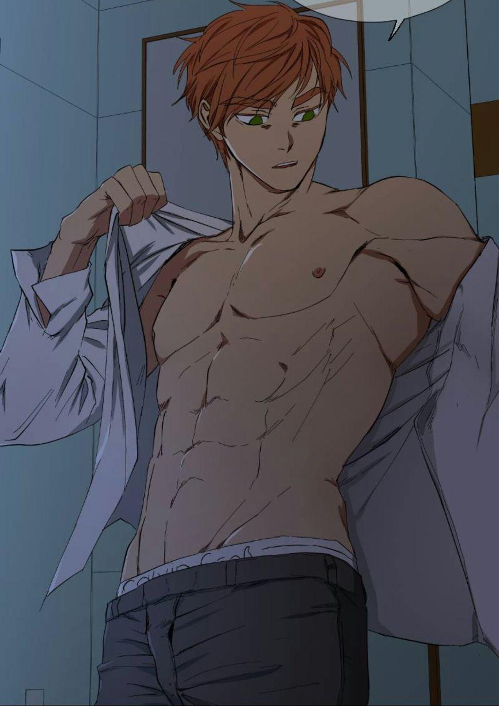Webtoon hot anime animeguy iloveyouu cute abs