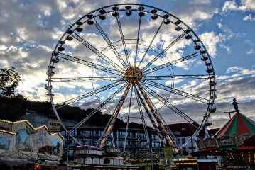 photography myphoto clouds summer ferriswheel