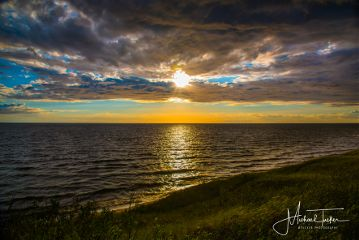 lakemichigan sunset michigan travel photography