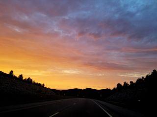 freetoedit sunset silhouette nature
