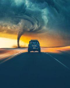 madewithpicsart edited tornado fearless
