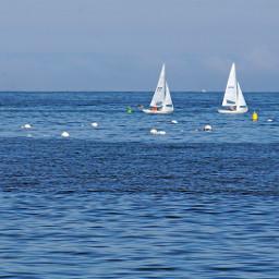 sanfranciscobay sea boats lanscape