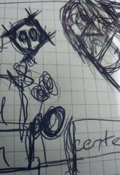 freetoedit drawing blackandwhite notebook funny