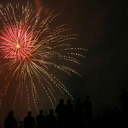fireworks moon freetoedit