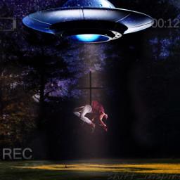 freetoedit ufoart alienabduction aliensexist iwanttobelieve