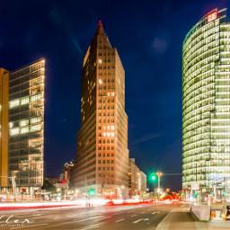 myberlin nightphotography potsdamerplatz streetphotography berlinbynight