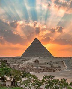 pyramids pyramid desert egypt natural freetoedit