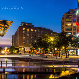 nightphotography myberlin potsdamerplatz citylights