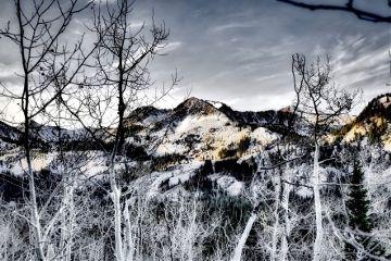 interesting mountains wasatchmountains winter snow