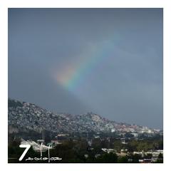 rainbow bluesky storm lightanddark mycity