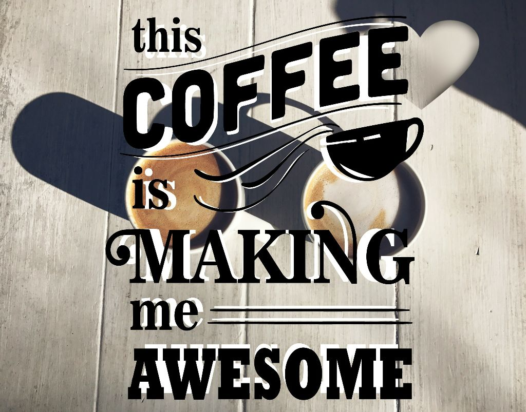 Thanks @magieryan for AWeSoME coffee fte photo #coffeeholicstickers #news #health #healthnews #emotions #lifestyle Yay.. Latest news says I'm going to live longer! #coffeelover #stickers