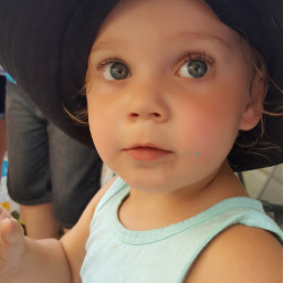 photography photo neice toddler bigeyes