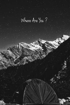 whereareyou blackandwhite travel tent camping freetoedit