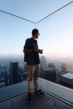 freetoedit popart rooftop sky travel