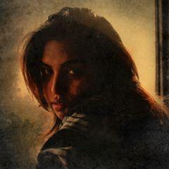 freetoedit portrait woman beautiful gouacheeffect