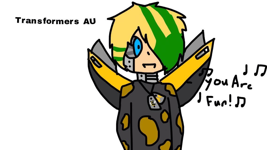 Transformers AU Ratchet- Acree-  Bulkhead- SmokeScreen- WheelJack-  Ultra Magnus- CliffJumper- Humans: Jack-Miko- Raf- William- June- Decepticons: Megatron- BlackOut- Barricade- (ive taken out the ones taken)