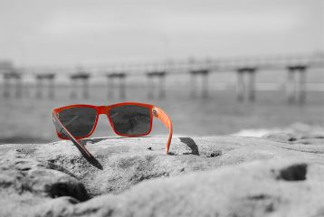 colorsplash sunglasses photography beach