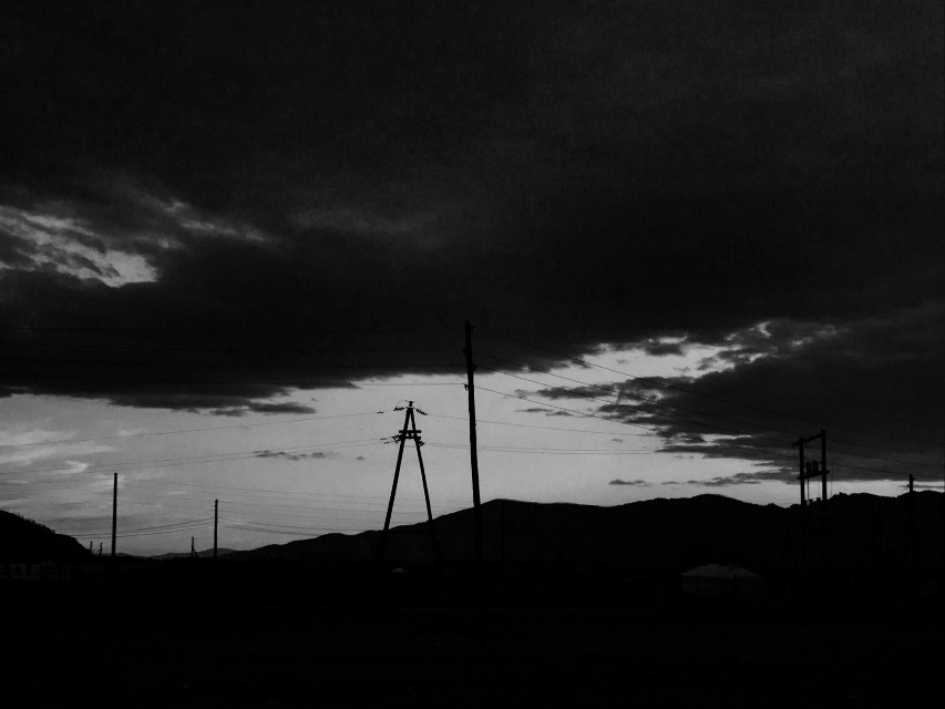 Mongolia Night🐾 #freetoedit