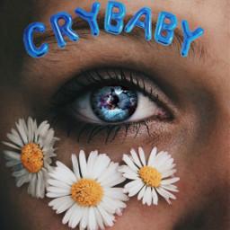 freetoedit crybaby melaniemartinez eye