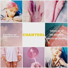 chanyeol pinkandblue exo exonewalbum exol