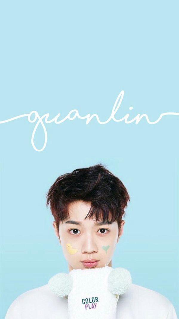 Kpop Wannaone Produce101season2 Guanlin Wallpaper