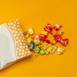freetoedit popcorn colors pocket yellowbackground