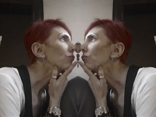 mirror cutegirl photography
