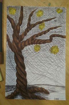 tree myart original markerart penart