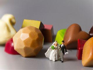 fod wedding pralines miniature