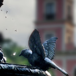 photography statue fountain