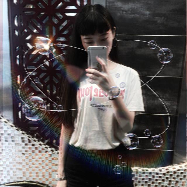 #freetoedit #selfie #dark #purposetour #justinbieber #me #bubbles #stars