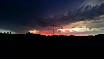evening sky freetoedit
