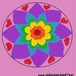 freetoedit mandalas drawnwithpicsart craftymomma