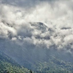 fog clouds natura