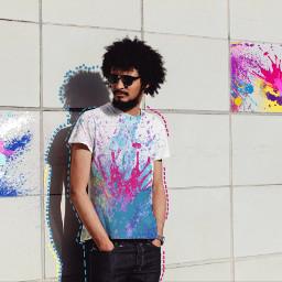 color splash colors portrait freetoedit