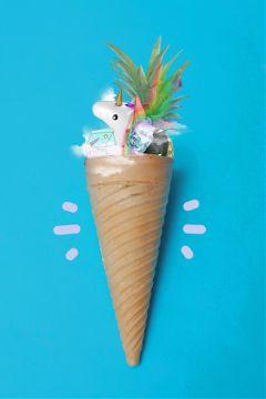 freetoedit unicorn rainbow icecream icecreamcone