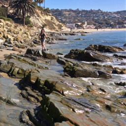 beachlife lagunabeach waves summer summervibes freetoedit