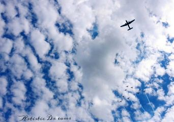 plane airplane sky clouds dpccloudshapes
